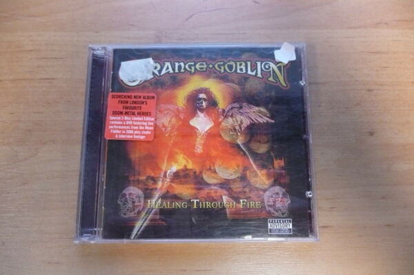 CD+DVD ORANGE GOBLIN - HEALING THROUGH FIRE  SANCTUARY 2007  DOOM METAL UK