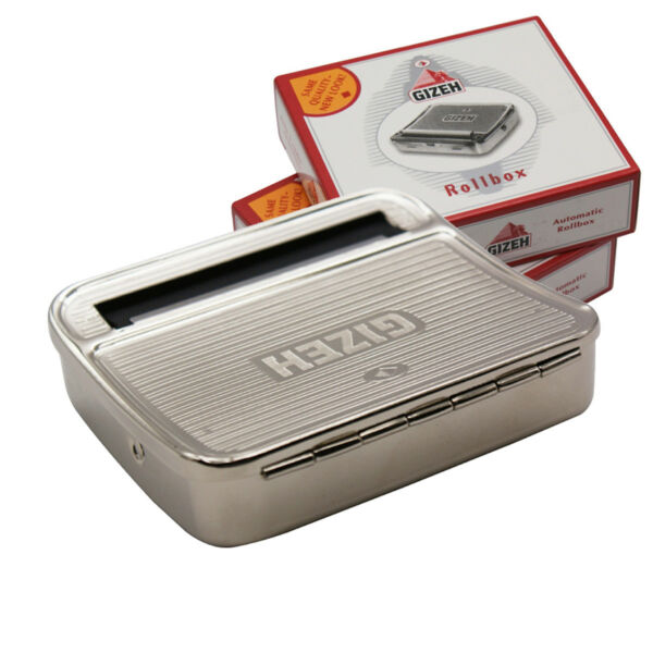 New 70mm Metal Automatic Cigarette Smoking Roller Machine Tobacco Rolling Box $8.79