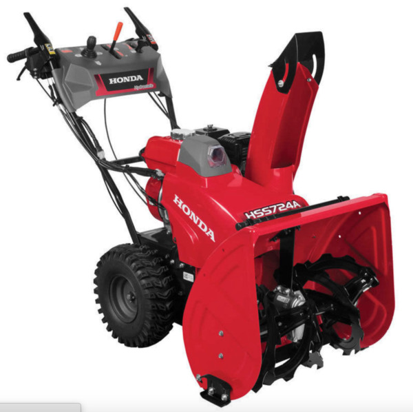 Honda HSS724AWD Two Stage Electric Start Snow Blower - 660780