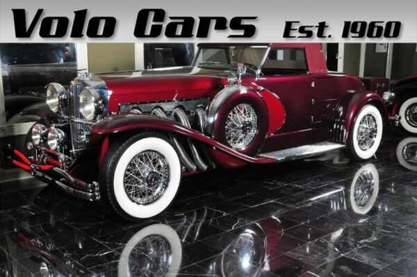 1989 Duesenberg II Murphy Body Roadster  Powerful cars for powerful people Serial # J205