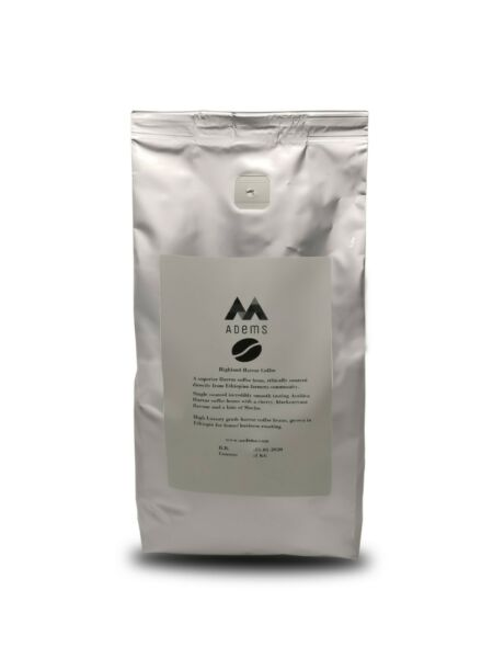 Ethiopian Harrar Green coffee beans unroasted for home business roasting 1kg