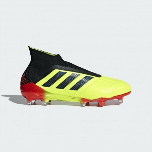Adidas Predator 18+ FG Men's Soccer shoes Cleats Yellow/Black/Red DB2010 ALL SZ!