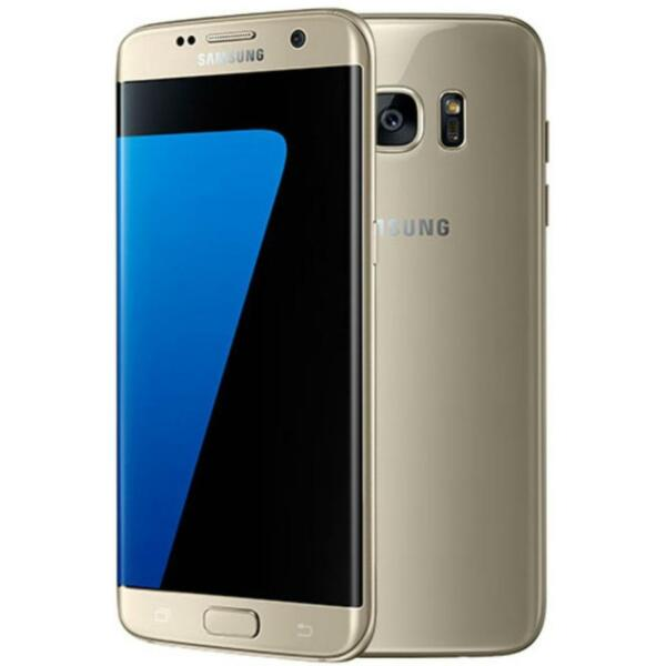 Samsung Galaxy S7 Edge - G935U - Gold (Factory GSM Unlocked; AT&T / T-Mobile)