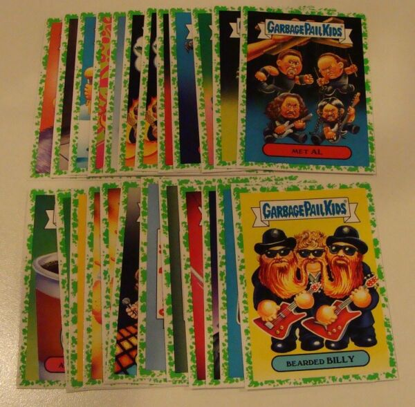 Lot of 24 Garbage Pail Kids Battle of the Bands Puke Parallel insert cards
