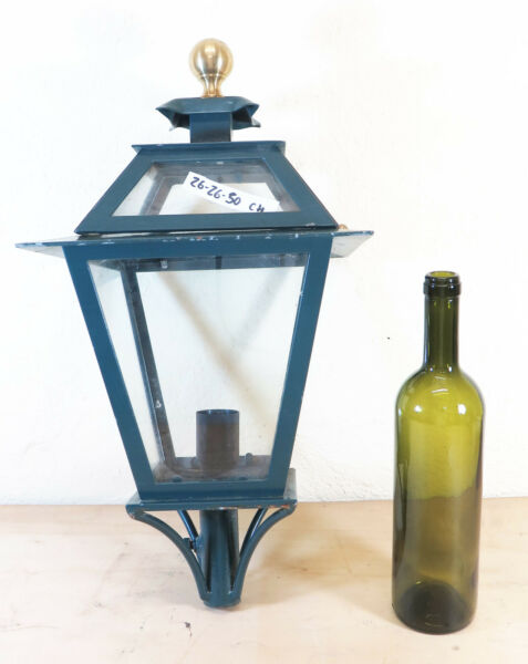 STREETLIGHT WROUGHT IRON FORGED HAND VINTAGE WALL LANTERN LIGHT LAMP