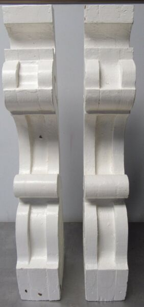 CorbelJamb Porch Roof Table Fireplace Mantle Vintage Corbels Pair Bracket