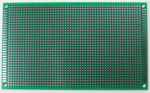 1/2/5 Double Sided PCB Proto Perf Board Through Plated 9*15 9 x 15 cm USA Ship