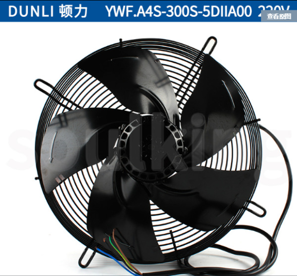 1PC About DUNLI YWF.A4S-300S-5DIIA00 220V 0.42A 80W outer rotor axial fan