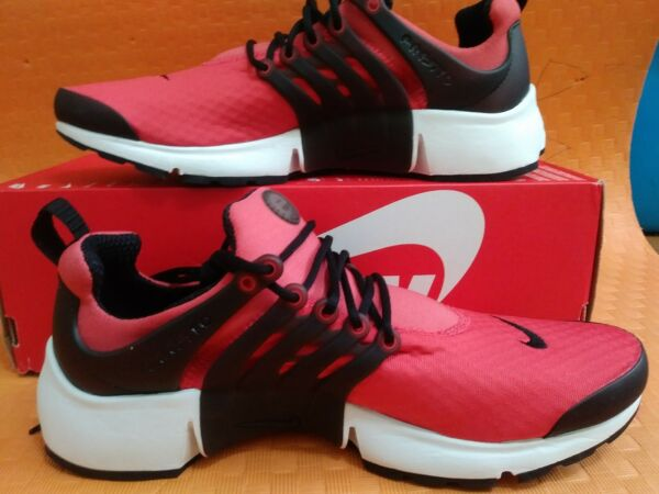 New Brand Nike Air Presto Essential Track Red 848187-600 Size 10
