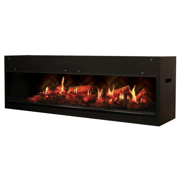 DIMPLEX NORTH AMERICA Opti-V Electric Fireplace Black