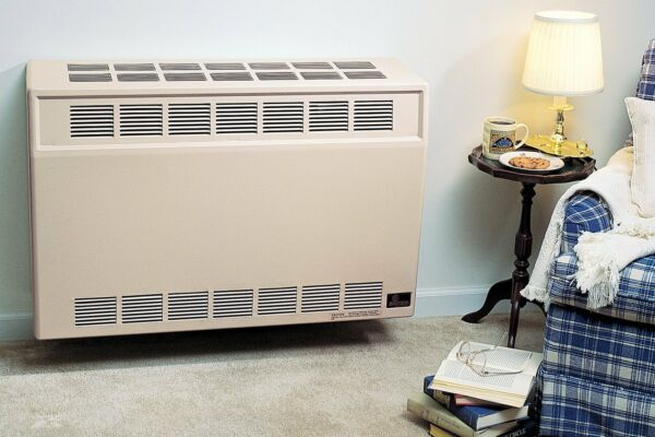 Empire DV35SG Direct Vent Gas Wall Furnace-Package W Blower & Thermostat