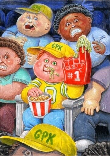 GARBAGE PAIL KIDS 2017 Rootin' RUBEN Color Rough - Jay Lynch Tribute Set LAYRON