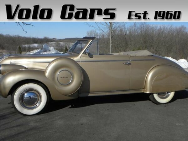 1939 Buick Other Convertible Coupe Rare Dual Side Mounted Spare Tires