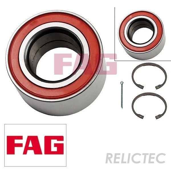 Front Wheel Bearing Kit Opel Vauxhall Holden:VECTRA BVECTRAASTRA F 90510542