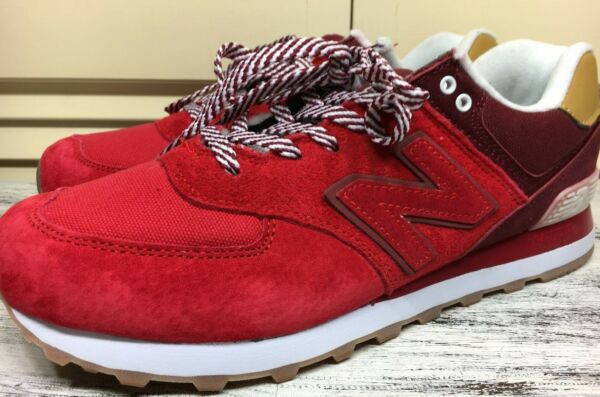 New Balance 574 Red Sneaker Men's Size 10 M / 44 ~ 🔴 SOLD OUT 🔴 Ml574CAG