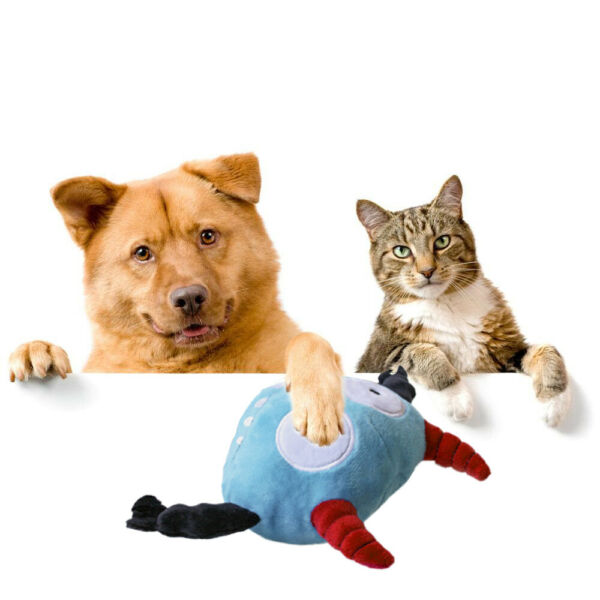 Plush Jumping Automatic Giggle Ball Cat Dog Interactive Toys  Toy Ball GIFT