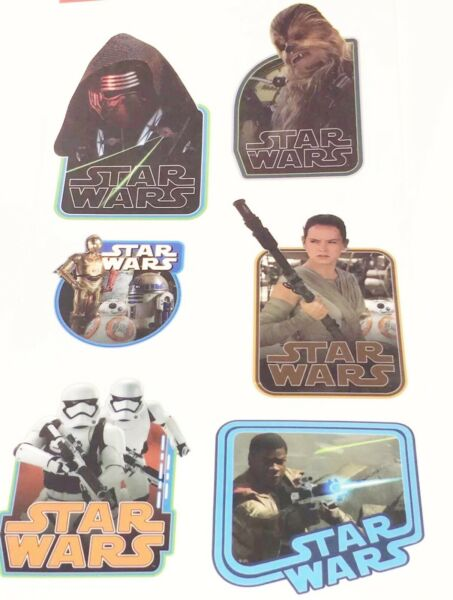 2-Marvel Star Wars Movie Kids Toys Home Wall Decal Stickers School Supplies Sale