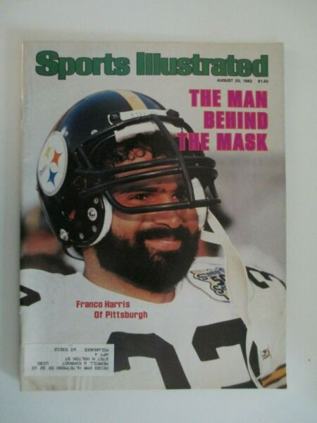 Sports Illustrated 82382  Franco Harris Cover