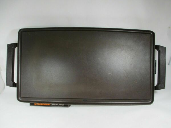 Vintage Counter Top Toastmaster 880 Non Stick Teflon Electric Griddle Hot Plate