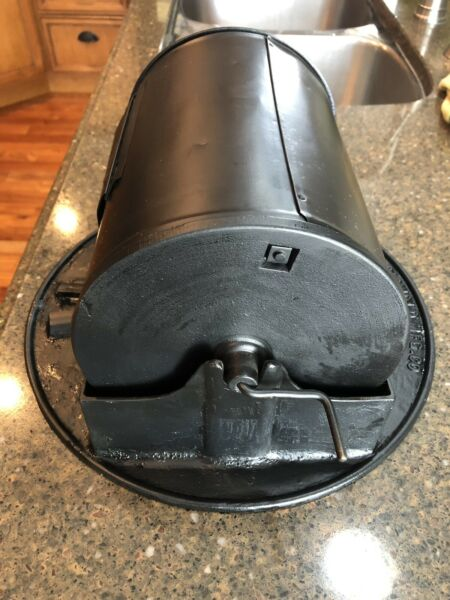 Super  Rare Griswold Cast Iron # 1 Coffee Roaster Wow