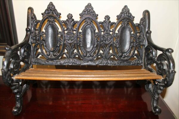 Cast Iron DOLL BENCH For 18