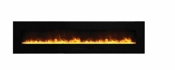 Amantii Wall Mount  Flush Mount Series Electric Fireplace with Ember Media 88