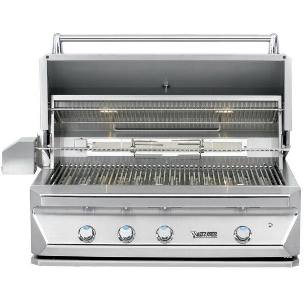 Twin Eagles 42 Inch Built-In Propane Gas Grill with Infrared Rotisserie and Sear