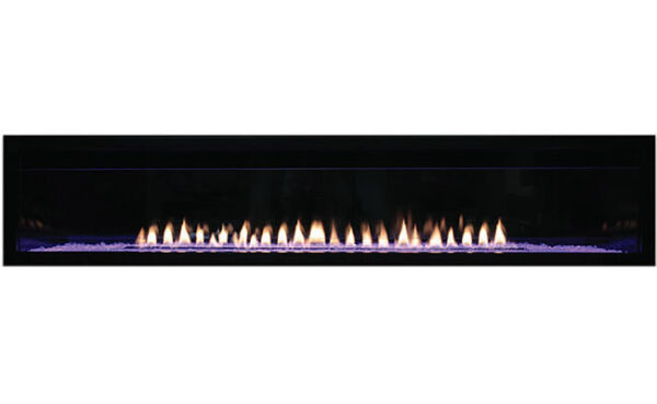 Empire Boulevard Vent-Free Linear Contemporary Fireplace 60