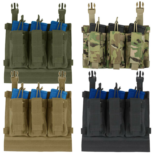 Condor 221126 VAS Tactical Plate Carrier System Kangaroo Magazine Panel Pouch $27.95