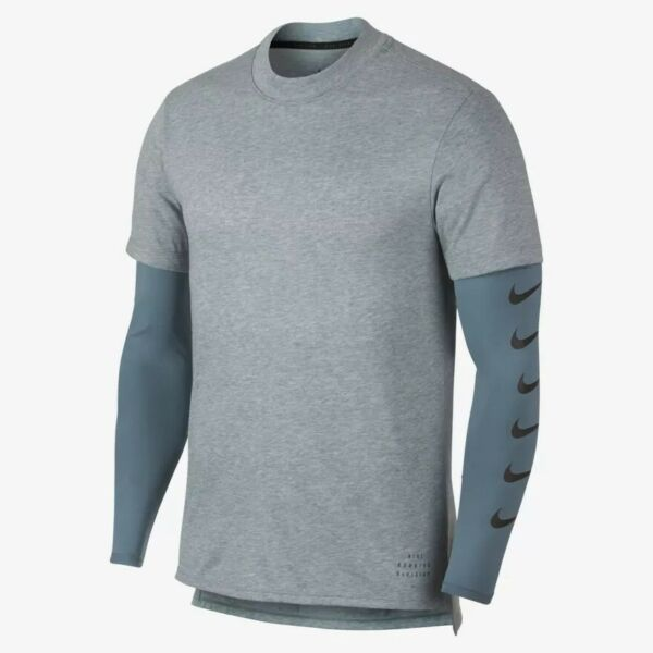Nike Mens Run Division Rise 365 Long-Sleeve Running Top 930224-468; Sizes M or L