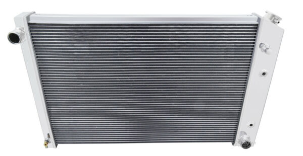 1973-1991 Chevy K5 Blazer Radiator Polished Aluminum 3 Row Champion Radiator