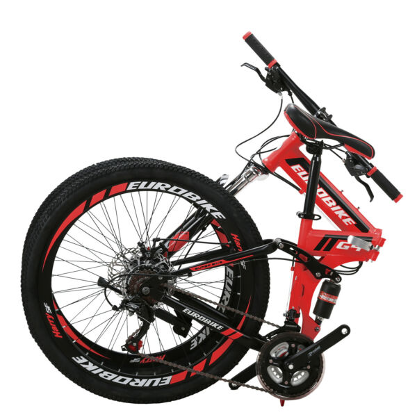 "26"" Full Suspension Mountain Bike 21 Speed Folding Bicycle Men or women MTB $279.00"
