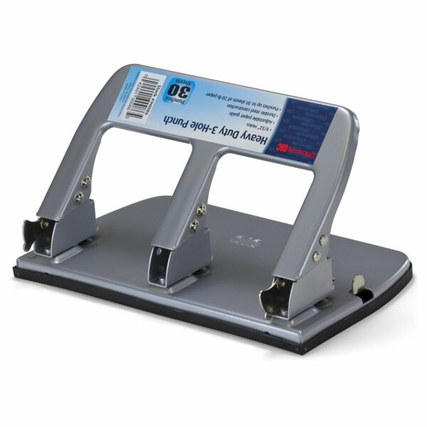 Officemate Paper Puncher 3 Three Hole Punch Heavy Duty Metal Large Office Tools $23.89