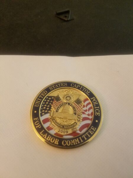 US Capitol Police For Labor Committee 56th Presidential Challenge Coin