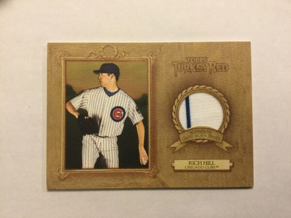 2007 Topps Turkey Red Material Rich Hill Chicago Cubs $3.99