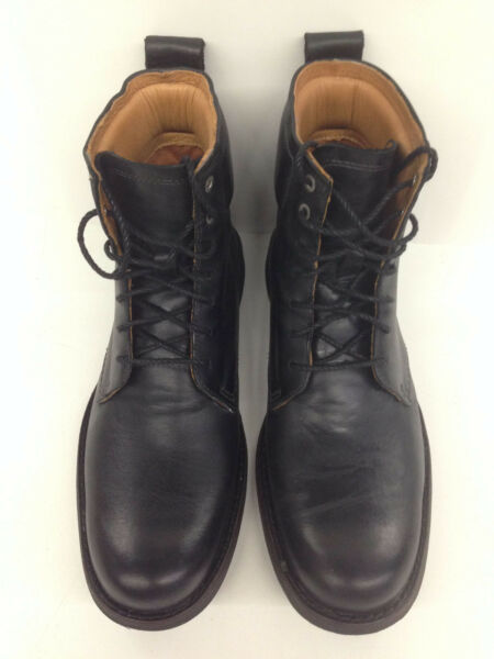 Timberland Earthkeepers Men 6quot; Zip Black Boots Size 7.5 used $80.00