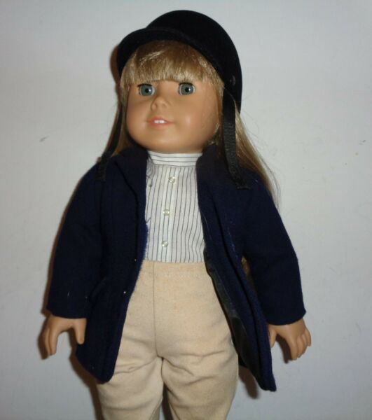 Pleasant Company Early American Girl Doll in Riding Clothes Extras