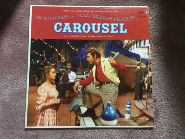 LP...CAROUSEL RODGERS amp; HAMMERSTEIN CAPITOL REC. W694 SHIRLEY JONES NM NM
