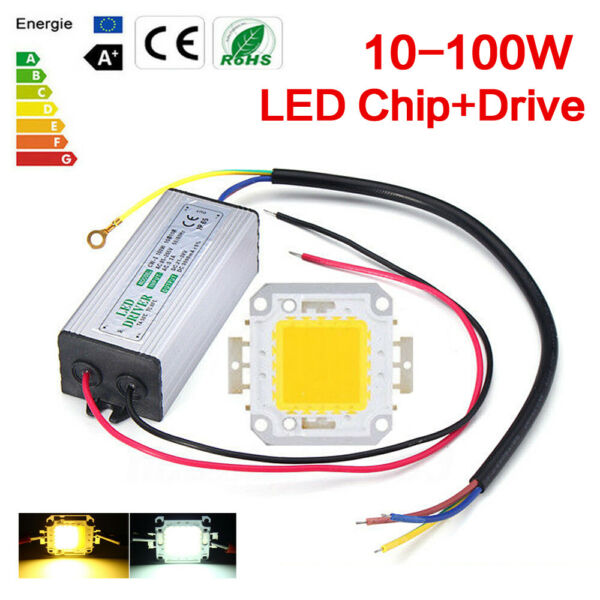 Waterproof LED Driver Power Supply For LED Chip Floodlight 10W20305070W100W