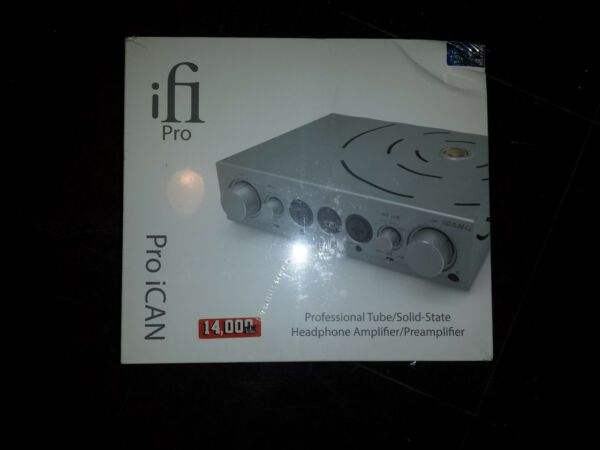 IFI AUDIO PRO ICAN THE ULTIMATE HEADPHONE AMPLIFIER Brand New