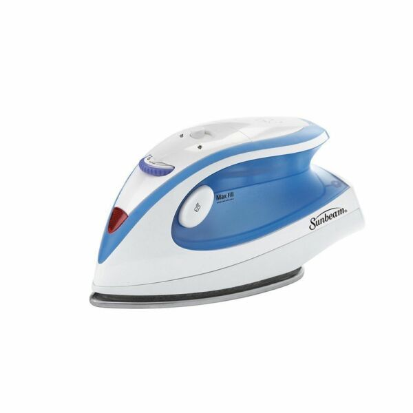 Travel Iron Steam Electric Sunbeam Portable Compact Mini Iron Dual Voltage