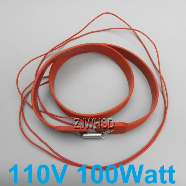 110- 130V 100W Brew Heating Heater Brewing Belt Pad Wine Beer Fermentation Pails