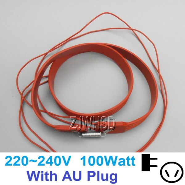 220V 100W Brew Heating Heater Brewing Belt Pad Wine Beer Fermentation Pails AU