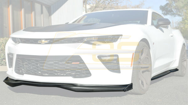 T6 Style Front Lip & CARBON Side Extension with Side Skirts For 16-18 Camaro SS