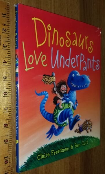 Dinosaurs Love Underpants Claire Freedman 2010 HCDJ 10th printing