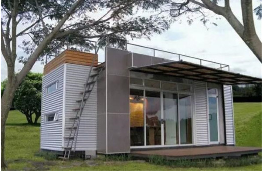 24' FT  Pre-Fab Container Modular Home-192 Sqft W Roofdeck   Brand New !