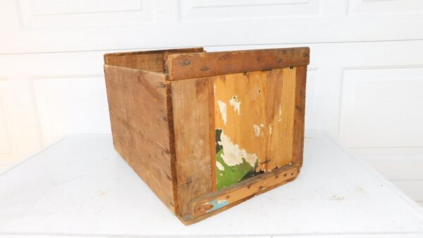 Vintage Wood Box Crate Wood Box Cubby Wood Box Fruit Crate OGS