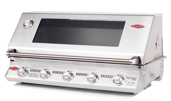 BeefEater Signature Series BBQ 5 Burner Built In Gas Grill Stainless Grate