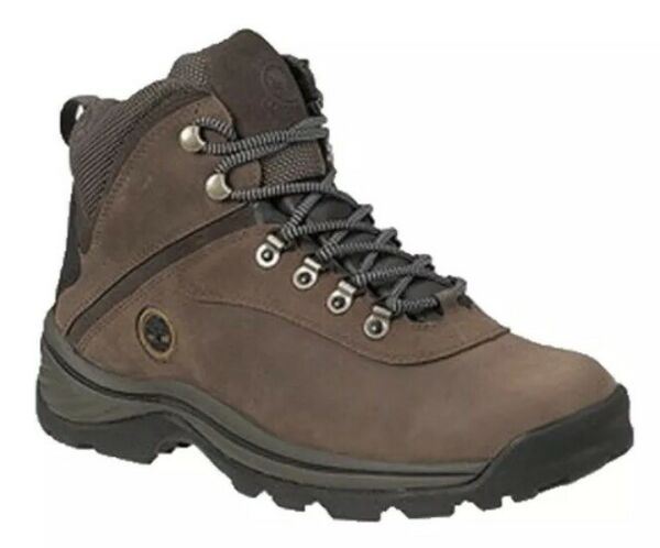 TIMBERLAND WHITE LEDGE HIKING Work BOOT Leather Waterproof 10 Eu 44 Brown $89.99