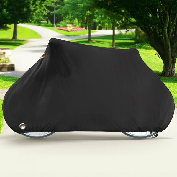 Deluxe Single Bike Cover Waterproof Outdoor Travel Storage Cover for 1x Bicycle $19.99